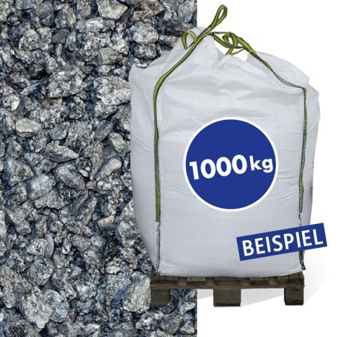 1000kg Granitsplitt Hellgrau 16-32mm